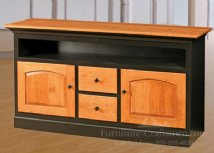 Barlow Road 60 2 Door Drawer Open Shelf Media Console